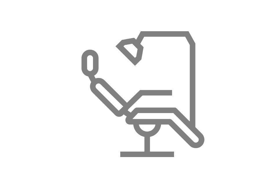 ikona fotel stomatologiczny
